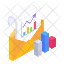 Email Analytics Business Mail Email Statistics Icon