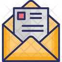 Business Mail Email Advertisement News Report Icon