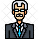Business Man Business Person Business Profile Icon