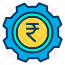 Business Management Rupees Management Finance Management Icon