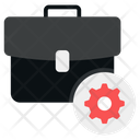 Business Management Business Administration Business Setting Icon