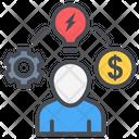 Business Management Idea Icon