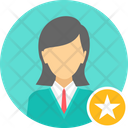 Business Manager Star Icon