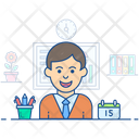 Business Manager Administrator Supervisor Icon
