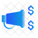 Microphone Promotion Advertising Icon