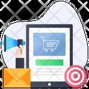 Ecommerce Marketing Business Marketing Shopping Promotion Icon