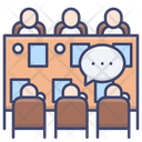Meeting Table Shareholder Icon