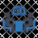 Business Meeting Teamwork Icon