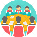 Business Meeting Conversation Icon