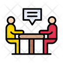 Meeting Discussion Teamwork Icon