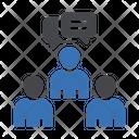 Discussion Conversation Teamwork Icon