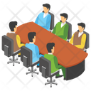 Business Meeting Meeting Room Conference Icon