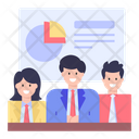 Business Presentation Official Meeting Business Meeting Icon