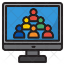 Business Meeting Business Conference Meeting Icon