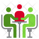Business Meeting Meeting Discussion Icon