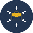 Business Method Business Portfolio Business Valuation Icon