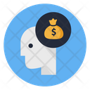 Business Mind Money In Mind Money Mind Icon