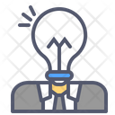Business Mind Human Bulb Bulb Icon