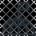 Globe Goal Mission Icon