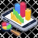 Business Data Business Mobile App Data Analytics Icon