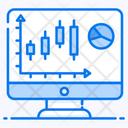 Business Monitor Online Data Data Analytics Icon