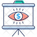 Business Monitoring Cyber Eye Finance Monitoring Icon