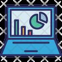 Business Monitoring Data Analytics Online Data Icon