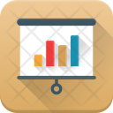 Business Presentation Analysis Icon