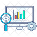 Business Analysis Business Monitoring Business Evaluation Icon