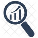 Analysis Monitoring Research Icon
