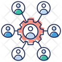 Business Network Network Management Business Maintenance Icon