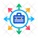 Case Arrows Different Icon
