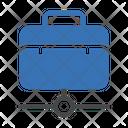 Portfolio Job Network Icon