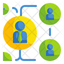 Business Networking Networking Business Icon