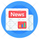 Business Newspaper Newspaper News Journal Icon