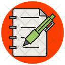 Business Note Icon