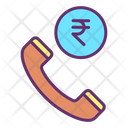 Mfinance Call Business Offer Rupee Icon