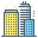City Buildings Business Offices Icon