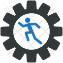 Business Operation Gear Icon