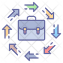 Business Opportunity Briefcase Chance Icon