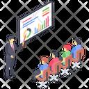 Business Orator Presentation Icon