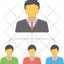 Business Organization Structure Icon