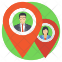 Business Location People Icon