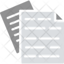 Business Paperwork Data Files Documentation Icon