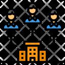 Company Recruitment Networking Icon