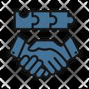 Business Partner Businessmen Deal Icon