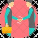 Business Partnership Businessman Icon