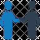 Handshake Business Partnership Icon