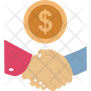 Business Partnership Commitment Deal Icon