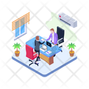 Business Association Business Partnership Cooperation Icon